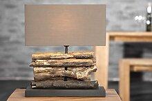 Invicta Interior Design handgefertigte Tischlampe