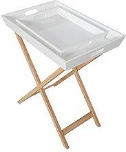 Invicta Interior Design Retro Tablett Tisch