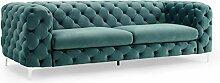 Invicta Interior Design SAMT Sofa MODERN BAROCK