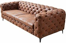 Invicta Interior Elegantes Chesterfield 3er Sofa