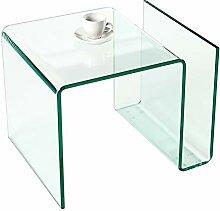 Invicta Interior Extravaganter Glas Couchtisch