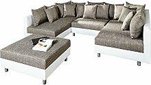 Invicta Interior Großes Design Sofa Loft XXL