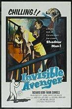Invisible Avenger Poster 01 Metal Sign A4 12x8 Aluminium