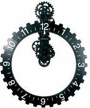 Invotis Coole Wanduhr: Big Hour Wheel Clock in