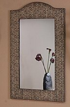 iovivo Wandspiegel im antiken Design cremefarben,