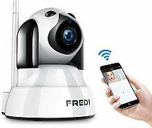 IP Kamera,720p FREDI Überwachungskamera Babyphone