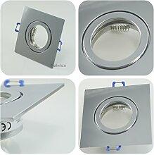 IP44 Alu- Feuchtraum Badezimmer Einbaurahmen Chrom