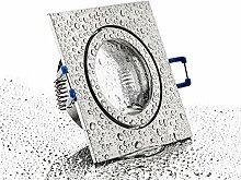 IP44 Alu- Feuchtraum Badezimmer Einbaurahmen