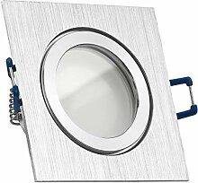IP44 LED Einbaustrahler Set Bicolor (chrom /
