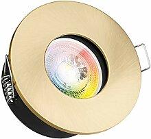 IP65 RGB LED Einbaustrahler Set GU10 in