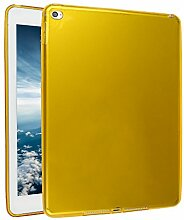 iPad Air 2 Silkon Hülle, Asnlove TPU Schutzhülle Tasche Case Cover Kratzfest Weich Flexibel Silikon Bumper in Matt Crystal Transparent Tablet Schutzhülle für Apple iPad Air 2 / iPad 6, Orange