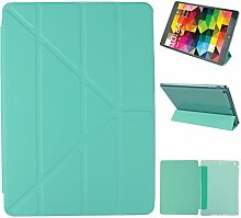 iPad Air Hülle Smart Cover, Asnlove Hülle Schutzhülle Etui Tasche Abdeckung Ledertasche mit Ständer Funktion und Eingebautem Magnet für Apple iPad Air / iPad 5 Tablet Cover, MintGrün