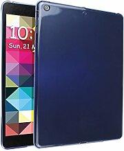 iPad Air Silkon Hülle, Asnlove TPU Schutzhülle Tasche Case Cover Kratzfest Weich Flexibel Silikon Bumper in Matt Crystal Transparent Tablet Schutzhülle für Apple iPad Air / iPad 5, Blau
