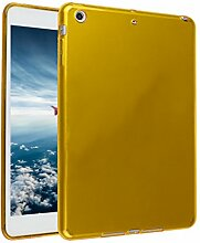 iPad Mini Hülle, Asnlove TPU Schutzhülle Tasche Case Cover Kratzfest Weich Flexibel Silikon Bumper in Matt Crystal Transparent Tablet Schutzhülle für Apple iPad Mini / iPad Mini 2 Retina / iPad Mini 3, Orange
