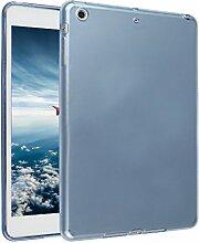 iPad Mini Hülle, Asnlove TPU Schutzhülle Tasche Case Cover Kratzfest Weich Flexibel Silikon Bumper in Matt Crystal Transparent Tablet Schutzhülle für Apple iPad Mini / iPad Mini 2 Retina / iPad Mini 3, Blau
