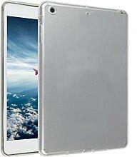 iPad Mini Hülle, Asnlove TPU Schutzhülle Tasche Case Cover Kratzfest Weich Flexibel Silikon Bumper in Matt Crystal Transparent Tablet Schutzhülle für Apple iPad Mini / iPad Mini 2 Retina / iPad Mini 3, Weiß