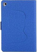 iPad Multifunktional Schutzhülle,Miya Schutz TPU innen-Material Lässiger Stil Mit Standfunktion Winkel einstellbar Wasserfeste, stoßfeste, rutschfeste und kratzfeste Hülle(iPad 6/Pro 9.7,Blau)