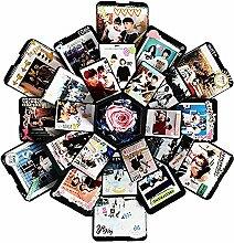 iPenty Fotoalben Bilderbox Fotobox Geschenkbox