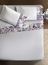 Ipersan Bettwäsche Set  Armonie Ramage Farbe  weiß 260x290cm
