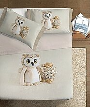 Ipersan-Wiege Funny Bear Beige/Braun 120x 180cm + 40x 60cm
