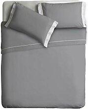 Ipersan zweifarbig Bettwäsche Set Farbe