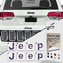 IPG Aufkleber für Jeep Grand Cherokee 2014–2019