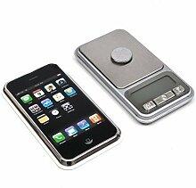 iPhone Tasche Digitale Waage Tragbar, leichte Professionell Multifunktionales Mini Maß 200g x 0,01g mit Hinterleuchtete LCD Bildschirm