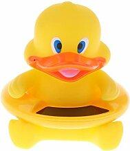 IPOTCH Badethermometer baby kinder - Gelbe Ente