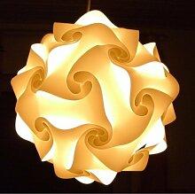 IQ Puzzle Lampe Grösse XXL Lampada Romantica Set 30 Puzzleteile ca. 52cm im Durchmesser