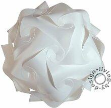 IQ Puzzle Lampe Retro Größe: XL / ca. 42cm - Design Designer Lampada Hängelampe Hängeleuchte Romantica - Puzzellampe
