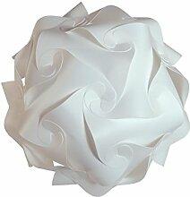 IQ Puzzle Lampe Retro Größe: XXL / ca. 60cm - Design Designer Lampada Hängelampe Hängeleuchte Romantica - Puzzellampe