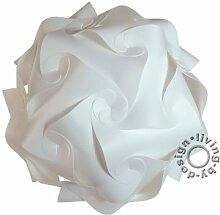 IQ Puzzle Lampe Retro Größe: XXXL / ca. 85cm - Design Designer Lampada Hängelampe Hängeleuchte Romantica - Puzzellampe