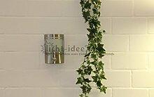"""IR Wand Außenleuchte mit Bewegungsmelder Edelstahl IP44 Außenlampe Sensor Bewegungssensor Infrarot Hoflampe Gartenlampe Terassenlicht """" Made for Licht-Idee®"""
