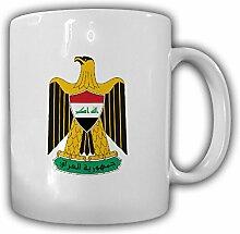 Irak Wappen_Emblem Iraq Komara Îraqê Kaffee Becher #13510