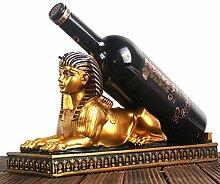 IREANJ Wein Weinflaschengestell Sphinx Weinregal
