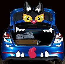 Ireer Halloween 2 Stück Halloween Kofferraum oder