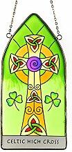 Ireland Cross .Fensterbild aus Glas