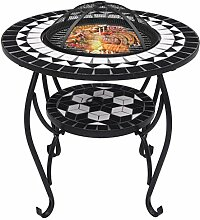 Irfora Feuerschale mit Grillrost Gartengrill Grill