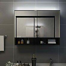 Irfora Spiegelschrank Bad mit Beleuchtung