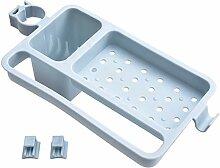 IRICH Ohne Bohren Kunststoff Duschablage mit 2