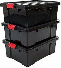 Iris 135739 Kunststoff DIY Aufbewahrungsbox