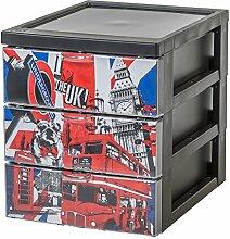 IRIS 143227 Design Schubladencontainer/Rollwagen