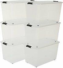Iris, Aufbewahrungsbox 6er-Set 'Top Box