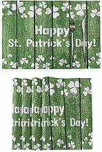 Irish Luck St. Patrick's Day Platzsets Set von