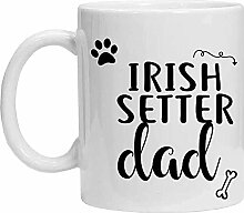 Irish Setter Tasse – Irish Setter Dad –