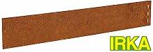 IRKA 10x Rasenkanten Corten Stahl schmal 18 cm