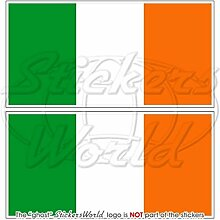 Irland irische Flagge Irland 7,6cm (75mm)