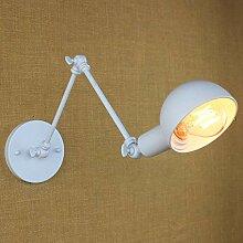 Iron Art Lange Arm Wandleuchte Lampe