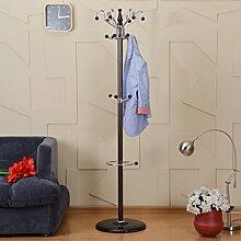 Iron Coat Rack Landung Schlafzimmer Büro Kleiderbügel Stand Einfache Kleidung Rack