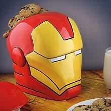Iron Man Keksdose aus Keramik - Avengers Iron Man Gebäckdose Marvel